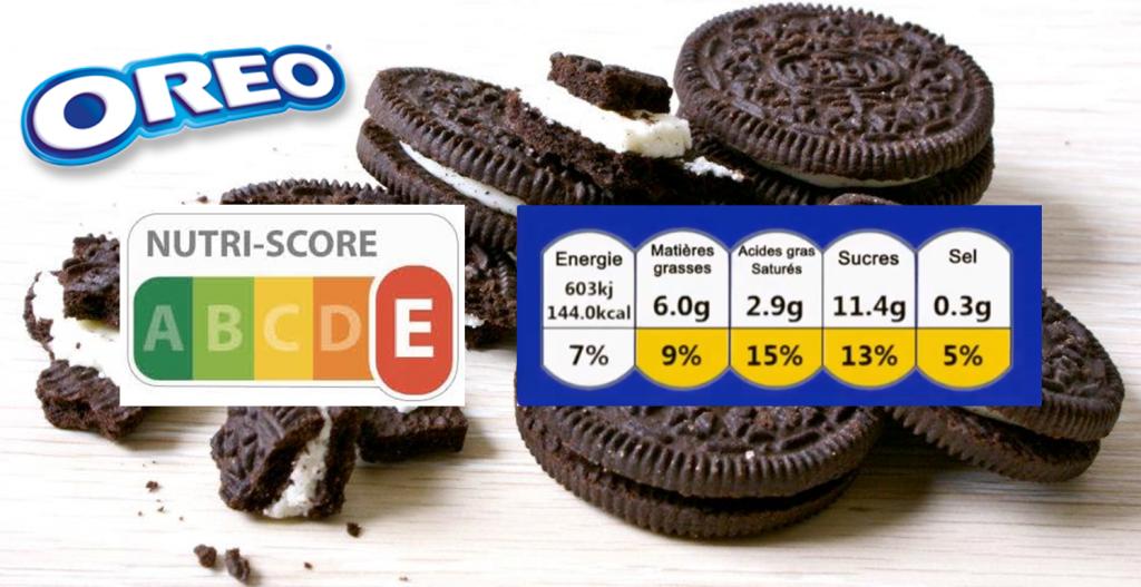 Oréo, Nutri-score, note nutritionnelle, mieux manger, transparence alimentaire, indicateur, alimentation, nutrition