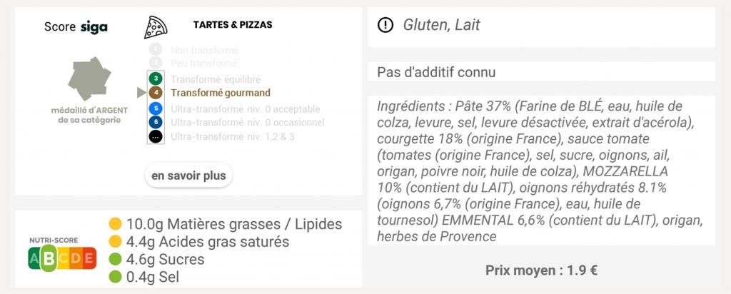 scanup, co-creation, application, pizza, franprix