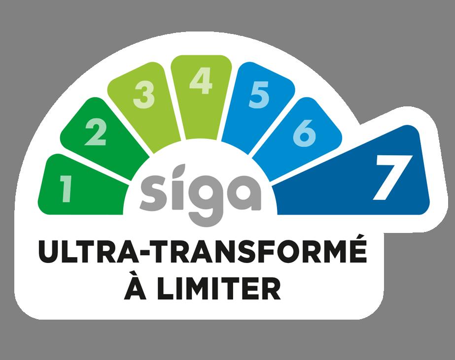 application, siga, ultra-transformation, produits ultra-transformés, degré de transformation, classification, nutrition