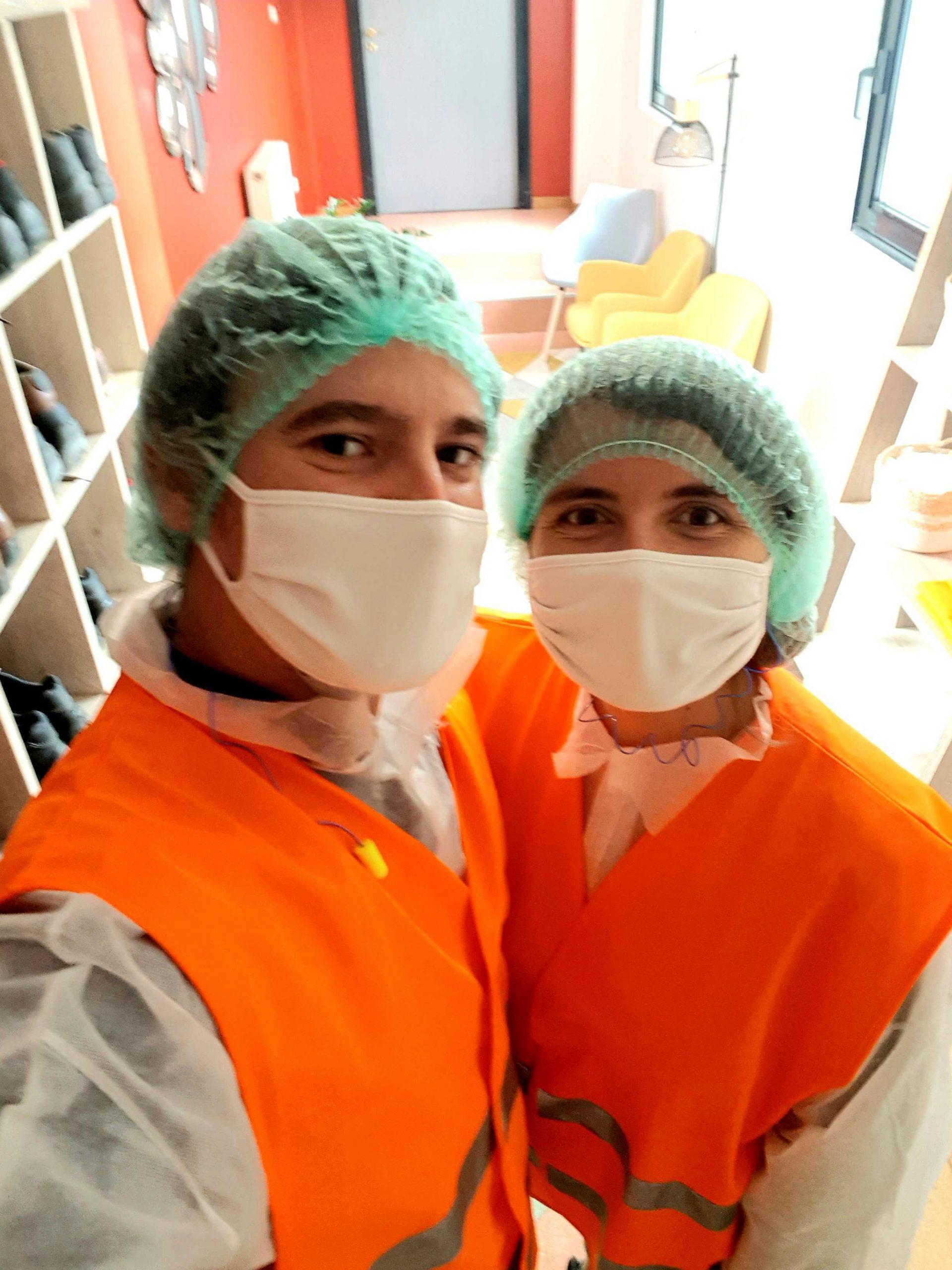 Visite de l'usine Hermes Boissons