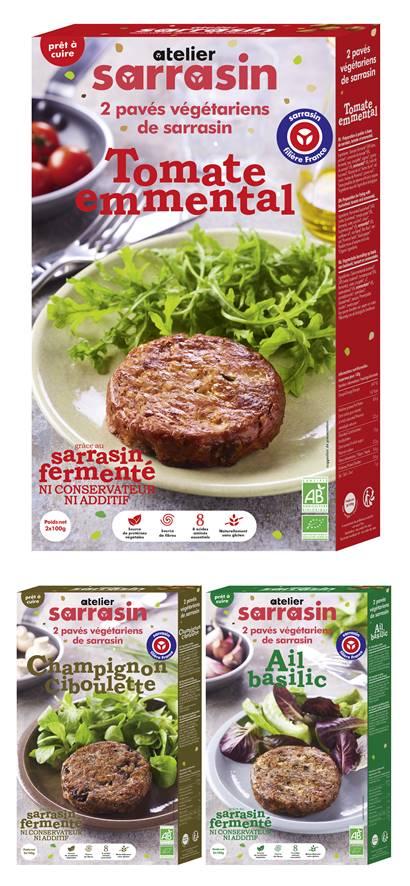 galettes végétales Atelier Sarrasin